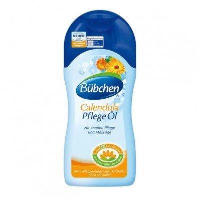 Bübchen Поддържащо/грижовно бебешко олио за тяло с невен 200 мл. 11225
